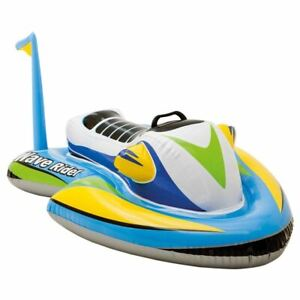 IntexWave Rider Inflatable Ride Sit On Jet Ski Swimming Pool Toy