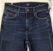 CITIZENS OF HUMANITY Cara High Rise Cigarette Jeans Womens 24 Stretch Marisol