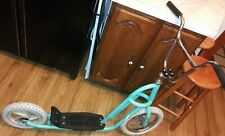 80s YO Schwinn Deluxe scooter Teal Green .pro Free-Form freestyle bmx tour