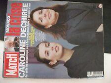**u Revue Paris Match n°2685 Caroline de Monaco / Hillary / Steve McQueen