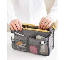 Women Travel Insert Handbag Organiser Purse Large Organizer Bag in Bag Gray GA