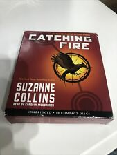 Catching Fire Audio Book 10 CDs Unabridged - Hunger Games - Suzanne Collins