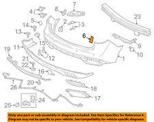Acura HONDA OEM 14-17 MDX Rear Bumper-Bumper Cover Hole Cover Left 71557TZ5A00ZE
