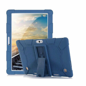 """Shockproof Soft Silicone Stand Case Cover For 10.1"""" Android Tablet PC Universal"""
