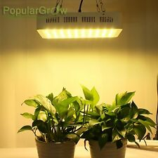 PopularGrow Full Spectrum 300W LED Grow Light For Veg Bloom Indoor Flower Plant