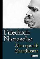 Also sprach Zarathustra Friedrich Nietzsche Buch Deutsch 2011