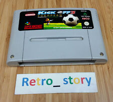 Super Nintendo SNES Kick Off 3 European Challenge PAL