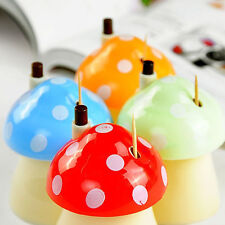Mushroom Shape Automatic Toothpick Holder Pocket Small Toothpick Box M@MPL
