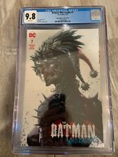 Batman Who Laughs 7 DC Harley Quinn Variant Dark Nights Metal CGC 9.8