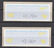 Briefmarken Frankreich FRA ATM (TD) ** 2000 Michel ATM 17.1e = 2 Werte