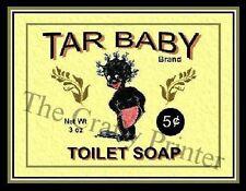MAGNET - BLACK AMERICANA Soap Label - Baby Toilet Soap