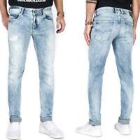 Diesel Sleenker 084DK Herren Slim Skinny Fit Röhren Stretch Jeans Hose W32 L32
