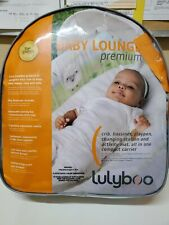 New listing Lulyboo Baby Lounge To-Go Portable Travel Bassinet Baby Lounge - Sheeps !