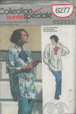 Burda 6277 Collection Speciale Blouse and Pants Size 12 - 22