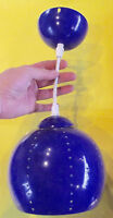 Ancienne Suspension Style Industriel Vintage rétro décoration Bleu