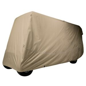 """golf car 6-Passenger Heavy-Duty  Storage Cover Long Top (Up to 124""""L)"""