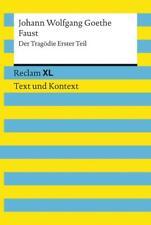 Faust. Der Tragödie Erster Teil. Textausgabe mit Kommentar und Materialien von Johann Wolfgang Goethe (2014, Taschenbuch)