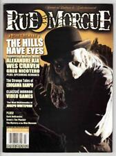 "RUE MORGUE #54 (3/06)--FN / ""The Hills Have Eyes"", Wes Craven, Greg Nicotero^"