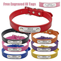 Personalized Dog Collar Free Engraved ID Tags Adjustable Collars For Dogs S M L
