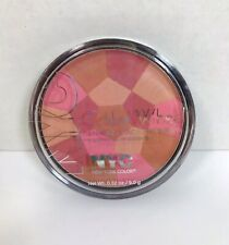 NYC Color Wheel Mosaic Face Makeup Bronzing Powder 723A Pink Cheek Glow NEW