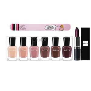 Zoya Nail Polish Naturel 3 . Free Lipstick & Nail File with Colection Purchase