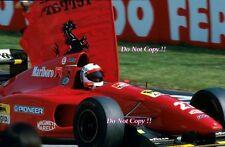 Nicola Larini Ferrari 412 T1 San Marino Grand Prix 1994 Photograph