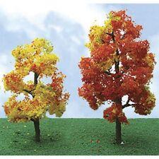"JTT Scenery Autumn Sycamore Tree N-Scale 2.25""- 2.5"" Pro-Elite Series 4/pk 92220"