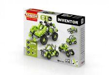 Costruzioni Engino Inventor: 12 in 1 Cars Models, New!