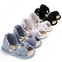 Baby Kids Girl Sandals Sneakers Infant Soft Sole Crib Toddler Newborn Shoes HOT