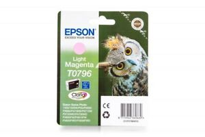Genuine Epson T0796 Light Magenta Ink Cartridges for Epson Photo 1400 1410 1500