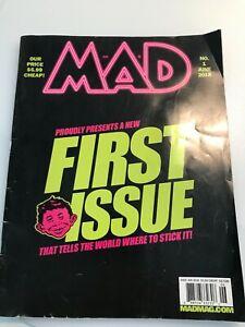 MAD Magazine #1 June 2018 Newstand Issue *Rare* Sergio Aragones