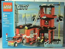 Lego Town City Fire 7240 Fire Station New Sealed