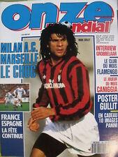 Onze Mondial N°26 Milan A.C Marseille Gullit Grobbelaar
