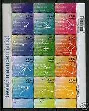 Nederland Vel Sterrenbeeldpostzegels 2581-2592 *zodiac stamps*