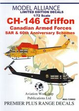 Model Alliance decals 1:72 Bell CH-146 GRIFFON des forces armées canadiennes Sar & 60th