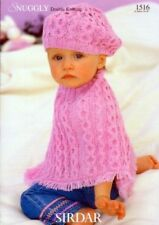 Sirdar Baby Ponchoes Patterns