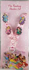 Disney Parks Princess Adventure is On Pin Trading Starter Set 4 Lanyard Card