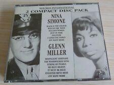 BOX 2 CD SOUNDS INTERNATIONAL NINA SIMONE GLENN MILLER 42 TITRES