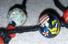 African Trade Beaded Necklace Assorted Beads Glass