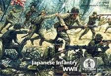 WATERLOO 1815 1:72 SOLDATINI JAPANESE INFANTRY WWII FANTERIA GIAPPONESE AP 022