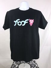 NWOT Fight Flight Monster Black Blue Pink Men's T Shirt XL