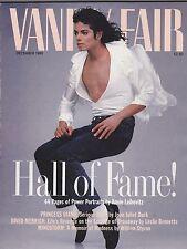 DEC 1989 VANITY FAIR vintage magazine ( UNREAD - NO LABEL ) MICHAEL JACKSON