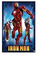 IRON MAN 2 ~ MARK VI 22x34 MOVIE POSTER Robert Downey Jr NEW/ROLLED!