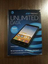 "ATT PREPAID ALCATEL TETRA 16GB , 5"" , 4G LTE ANDROID 8.1 OREO  LATEST EDITION"