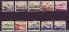 Postfrische Briefmarken-Schweizer Bundespost (bis 1944) als Satz
