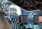 US Kramer CONDOR/Dennis Kline EDDIE Graphic Guitar/D Plate Series/OHSC for sale