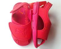 Bade Sandalen Gr.22 Puma NEU pink rot klettv. schuhe profilsohle kinder sommer