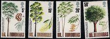 British Honduras SC283-286 Hardwood Trees Of Belize MNH 1971