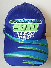 Aug 2000 GORACING.COM 500 BRISTOL SPEEDWAY Snapback NASCAR HAT CAP Rusty Wallace