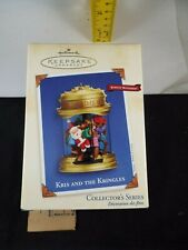 Hallmark Ornament 2002 Kris And The Kringles Nib